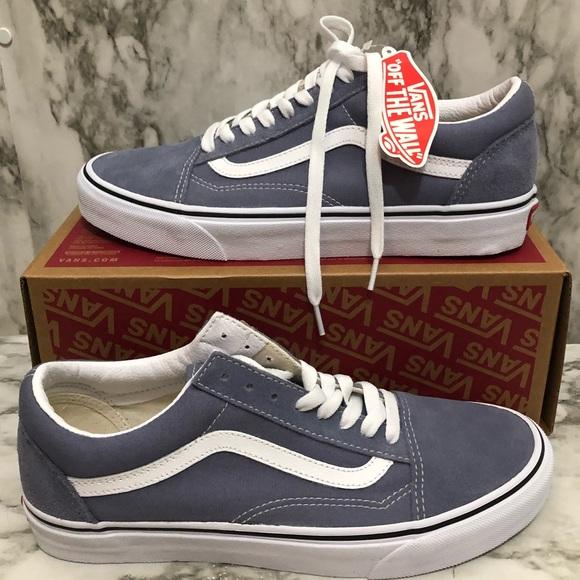 NEW Vans blue granite shoes